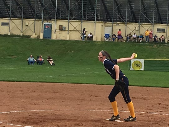 Delaware Valley junior Annaliese Rohrbaugh proved to