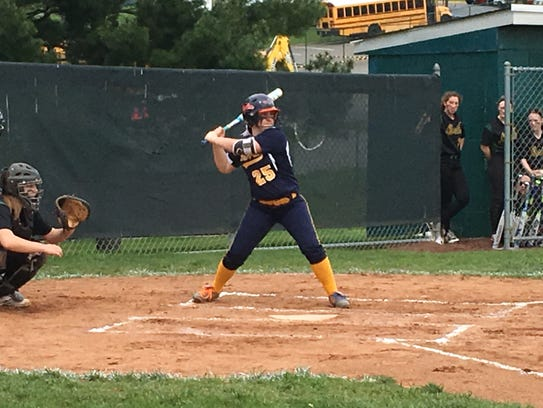Delaware Valley second baseman Sarah Zengel