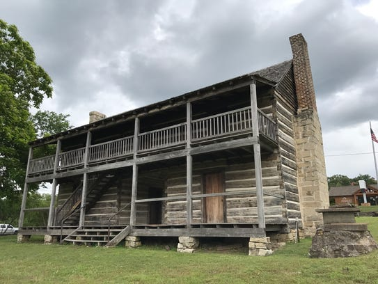 Jacob Wolf House Historic Site in Norfork