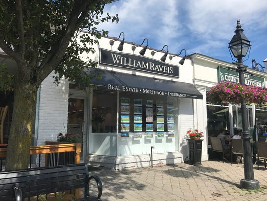William Raveis branch at 395 Main St. in Armonk.