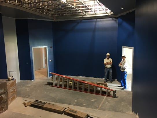 FGCU's new theater-style film room will have seating