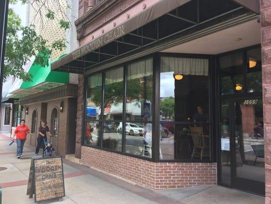 The Wooden Chair restaurant, 1059 Main Street in Stevens