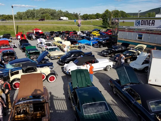 See vintage vehicles firsthand at area car shows.