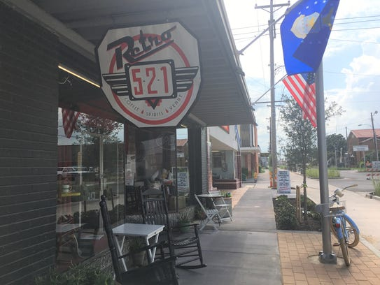 Retro 521 coffee house and venue space is now open