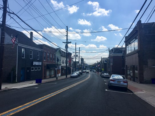 The heart of Carlstadt's downtown on Hackensack Street.