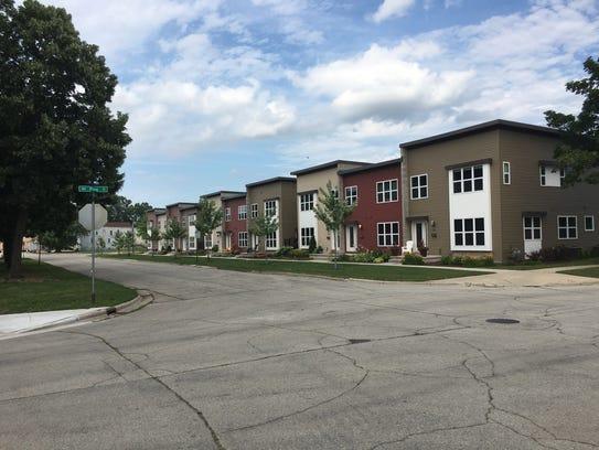 Garritt Bader built 10 townhouses in the 300 block