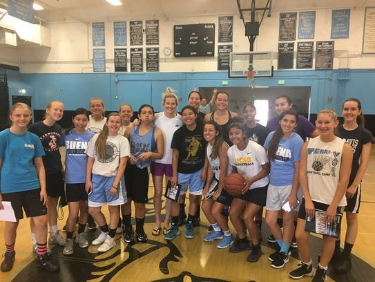 Seattle Storm's Sami Whitcomb stopped by her old stomping