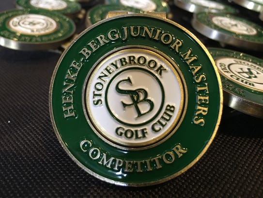 25th annual Henke/Berg Junior Masters competitor badge.