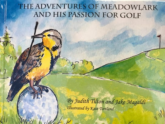 The children's book teaches lessons about determination,