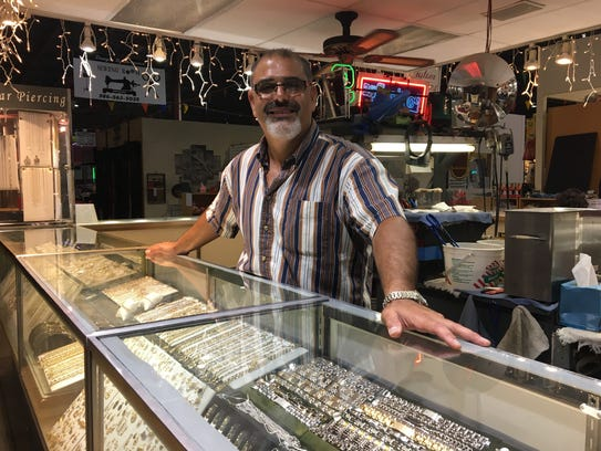 Charbel Haddad, who owns Gold-N-Silver Inc. with his