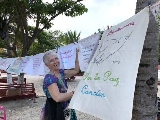 Teresa Carmona, an anti-crime activist in Cancun, Mexico.