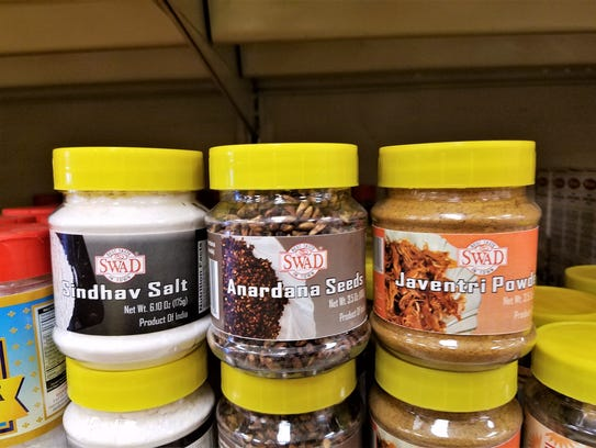 You'll find all kinds of exotic spices and items at