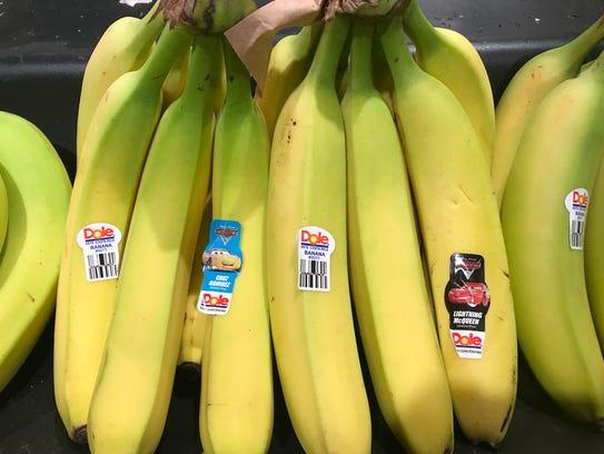 Wegmans bananas