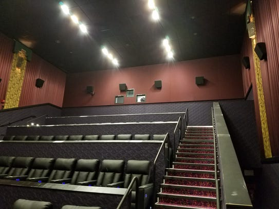 At least four out of 14 theaters now have new leather