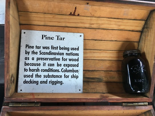 Pine tar was used in the late 1400s to preserve the