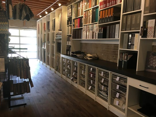 The Design House includes a library of interior design