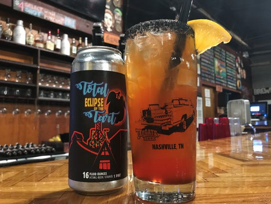 TailGate Brewery's Total Tequila Eclipse cocktail created
