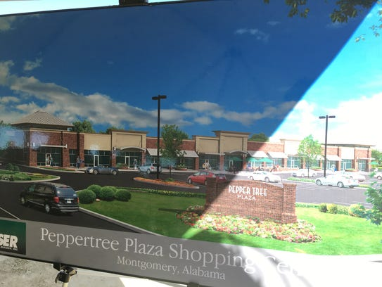 Peppertree Plaza Shopping Center is expected to open
