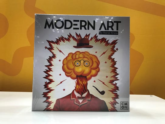 Fans can buy the game Modern Art at Gen Con 2017.