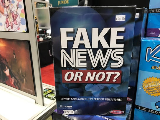 Fans can buy the game Fake News or Not? at Gen Con