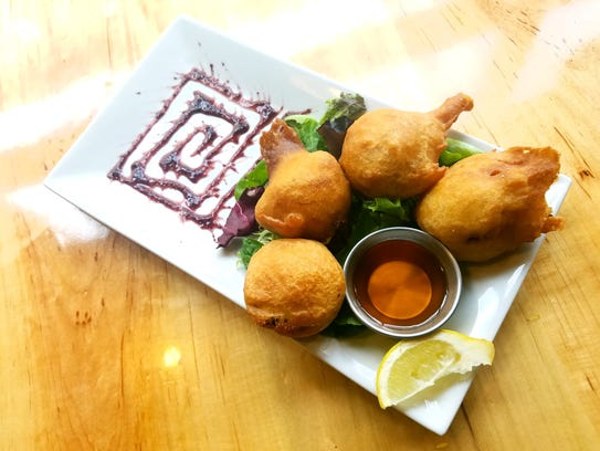Crab Beignets at Civil Kitchen and Tap