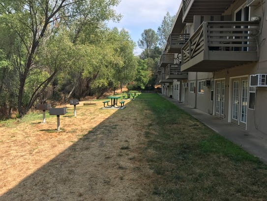 The management at the Shasta View Apartments is using