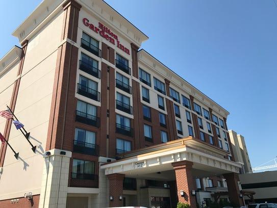 The Hilton Garden Inn Knoxville/University is the closest