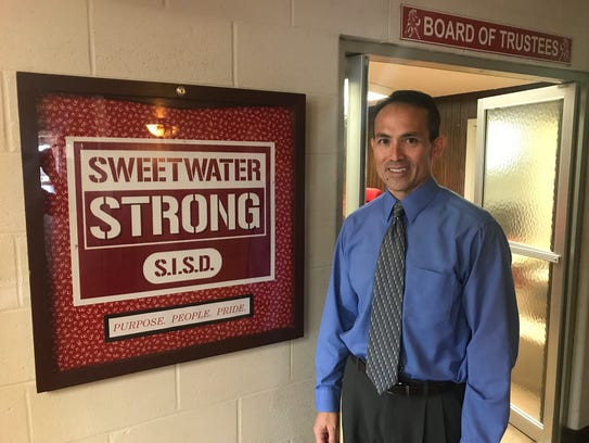 New Sweetwater ISD Superintendent George McFarland