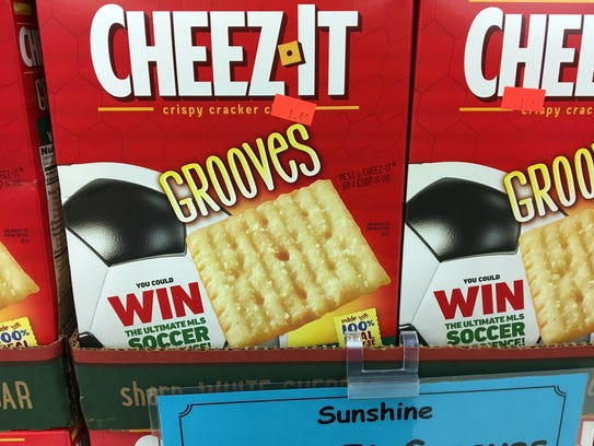Cheez-It nailed it with this packing. These are a soccer