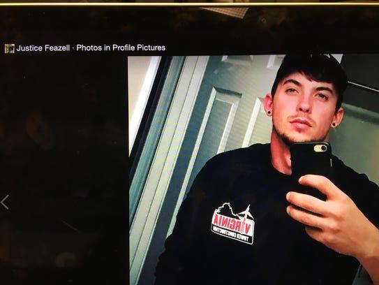 Twenty-four year old Justice Feazell died Saturday