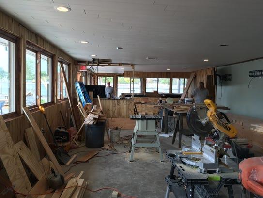 Silk O'Loughlin's undergoes construction following