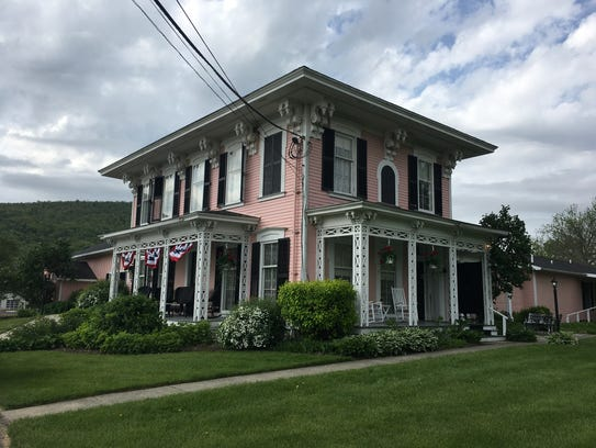 The pink lady: The Pleasant Valley Inn combines old-fashioned