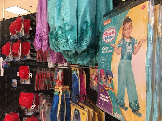 """""""Shimmer and Shine"""" costumes are expected to be popular"""
