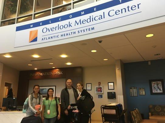 Four nurses — Alexia Nolette,Jessica Bocchino,George