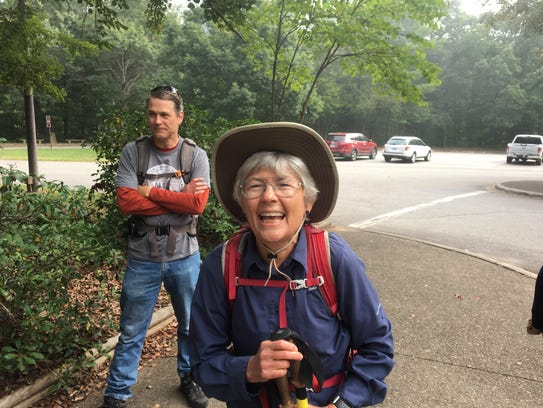 Asheville hiking guide and author Danny Bernstein led