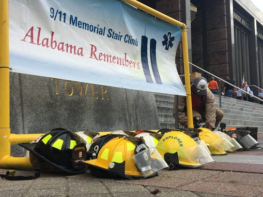 The 6th annual 9/11 Memorial Stair Climb took place
