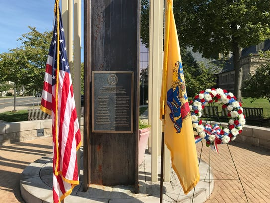 Somerset County's 9/11 memorial includes the names