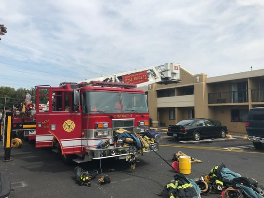 No one was injured in a first-floor fire at the America's