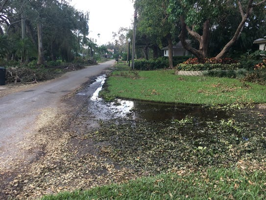 Raw sewage is backing up into residents' driveways