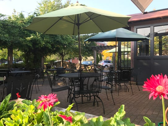 2 Vine sets an idyllic scene for dining al fresco.