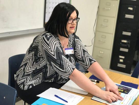 Amy Thompson, the Rapides Parish School System's teacher