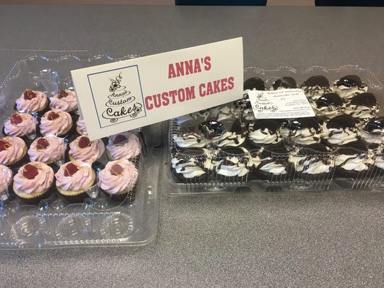 Anna's Custom Cakes provided cupcakes for a weekly