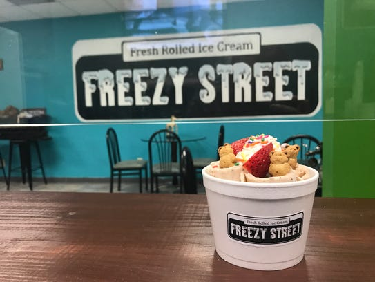 Freezy Street was inspired by a shop in New York City.