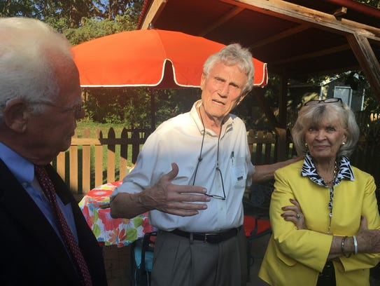 Former Gov. Martha Layne Collins helped raise money