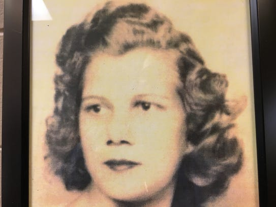 This photo of Mary Ellen Williams hangs in the Prattville