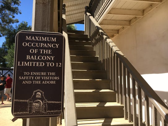Visitors to the Olivas Adobe in Ventura will find a