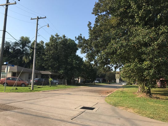 Residents who live in the subdivision off Duhon Lane
