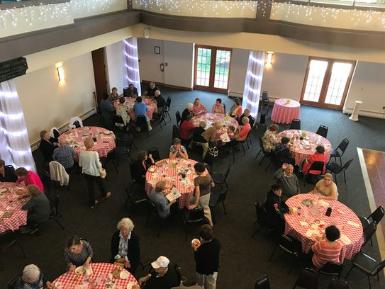 The IACC hosts bi-weekly luncheons that are open to