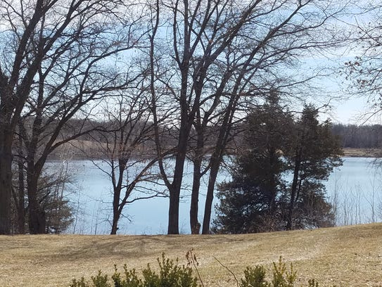 Relax with a view of a quiet lake at 21643 Stearns
