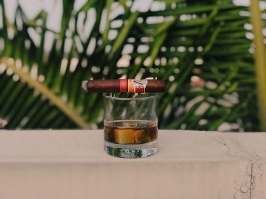A cigar garden is just one of the many features of